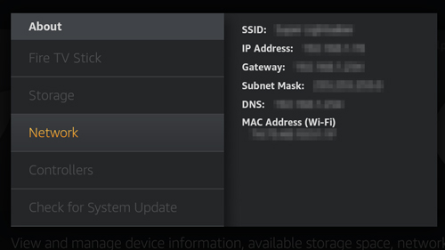 How to Configure DNS servers on the Amazon Fire TV